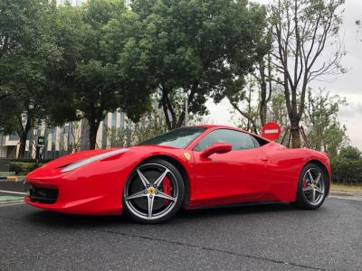2011年1月 法拉利 458 4.5L Italia图片