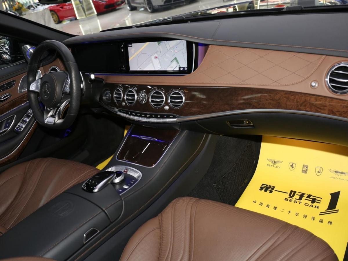奔驰 AMG  2014款 S65L AMG 6.0T图片