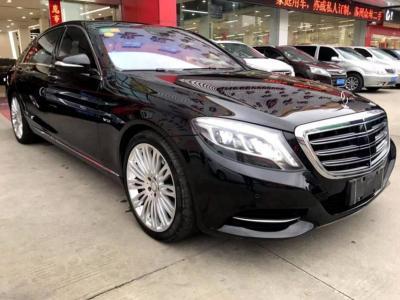 奔驰 S级  2014款 S600L 6.0T