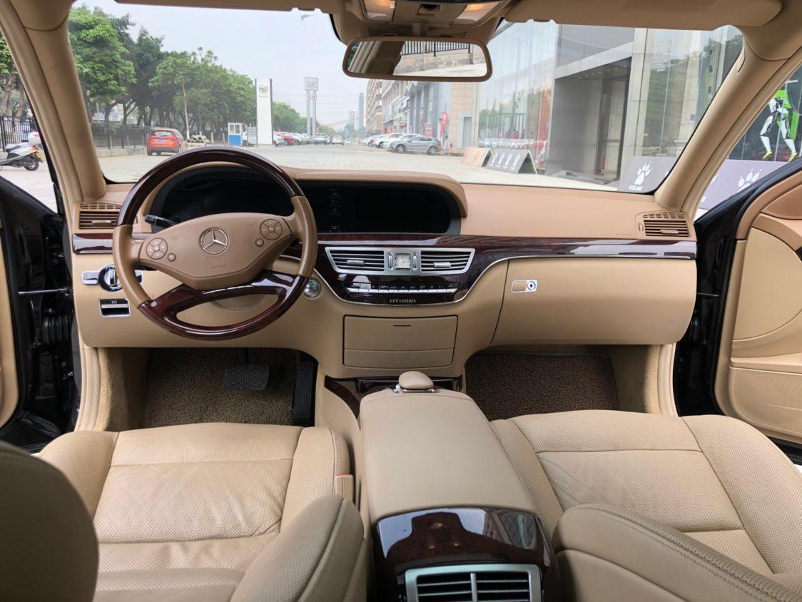 奔驰 奔驰S级  2012款 S400L Hybrid 3.5L图片