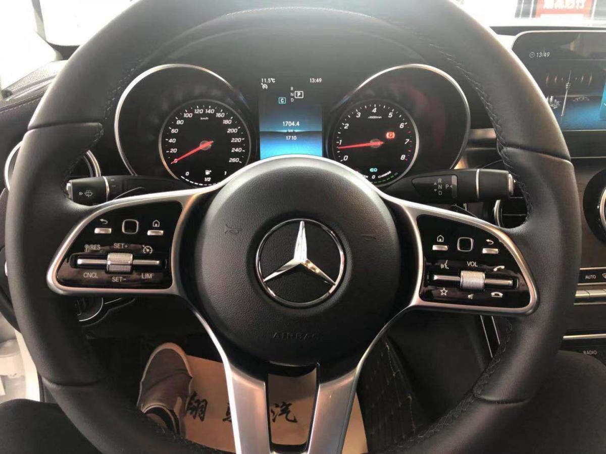 奔驰 奔驰C级  2019款 C260L 1.5T 运动版图片