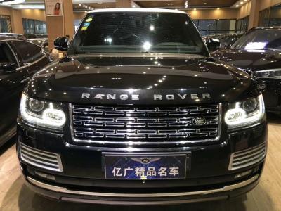 2016年9月 路虎 揽胜行政版 3.0T SC Vogue 汽油型图片