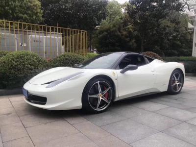 2012年9月 法拉利 458 4.5L Italia图片