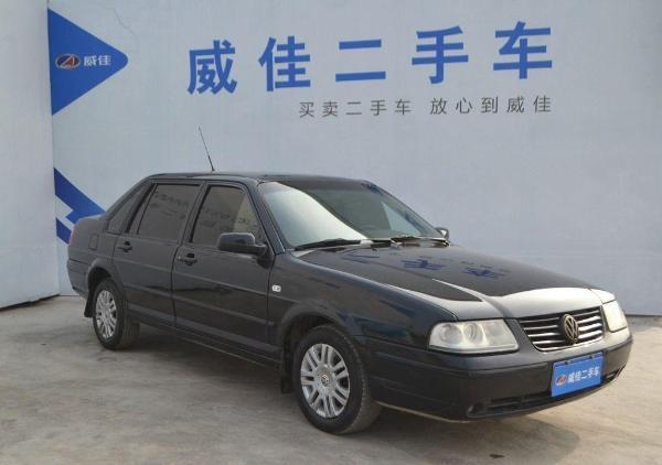 【郑州】2007年5月 大众 桑塔纳 3000 1.8 超越者 舒适版 黑色 手动挡