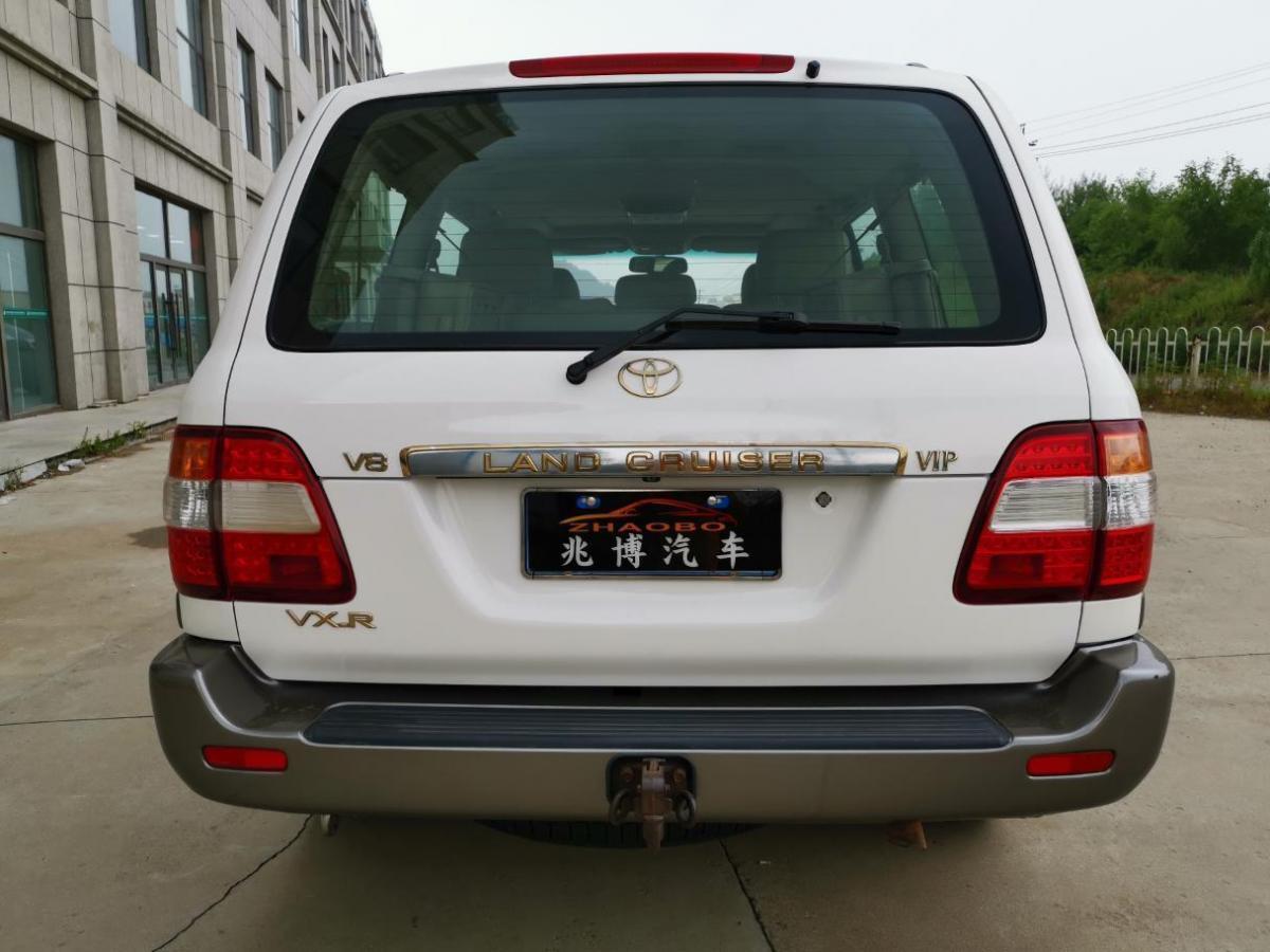 丰田 兰德酷路泽  2005款 4.7L 自动VX-R图片