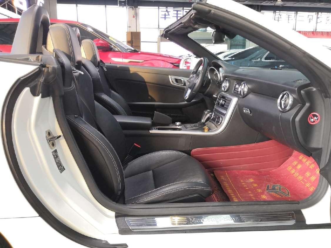奔驰 奔驰SLK级  2011款 SLK 200 时尚型图片