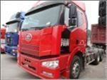 2012年11月 二手便宜出售解放J6锡柴双驱牵引车 价格13万元