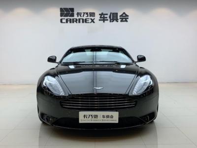 阿斯頓·馬丁 阿斯頓?馬丁DB9  2014款 6.0L Carbon White Coupe圖片