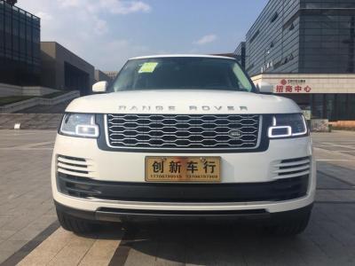 2019年8月 路虎 揽胜(进口) 3.0 V6 SC 传世加长版图片