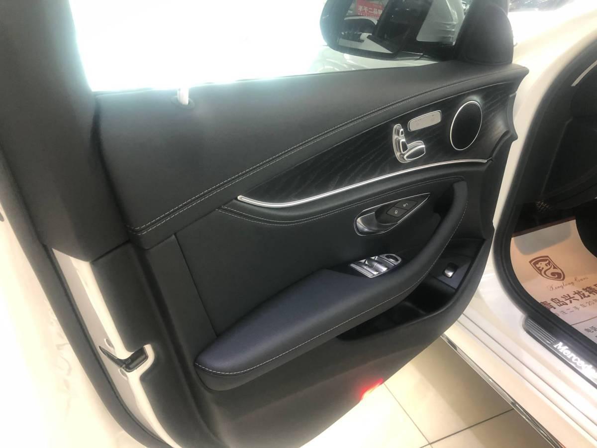奔驰 奔驰E级  2018款 E 200 L 运动型 4MATIC图片