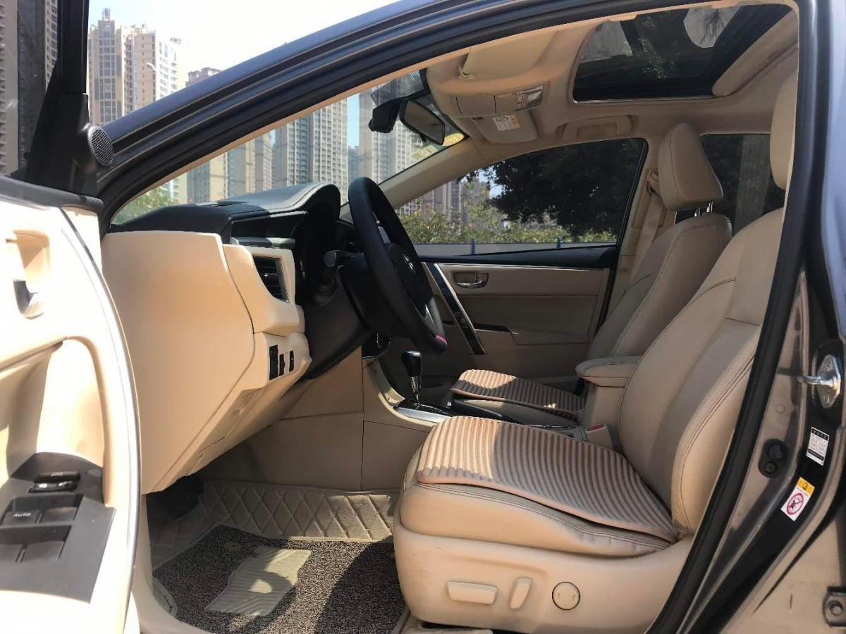 丰田 卡罗拉  2014款 1.8L CVT至高版图片