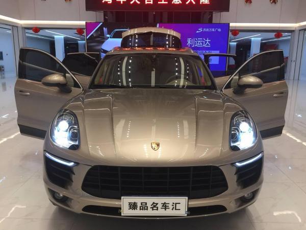 【青岛】2015年3月 保时捷 macan 2.0t 香槟色 自动档