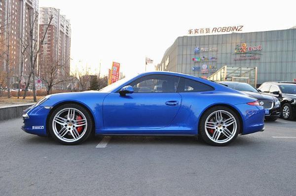 【沈阳】2014年7月 保时捷 911 carrera 4s 3.8 蓝色 自动档