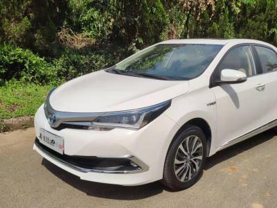 2019年8月 丰田 卡罗拉 改款双擎 1.8L E-CVT豪华版图片