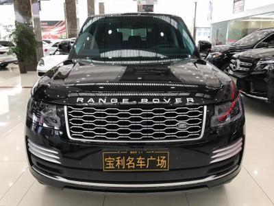 2019年10月 路虎 揽胜(进口) 3.0 V6 SC 传世加长版图片