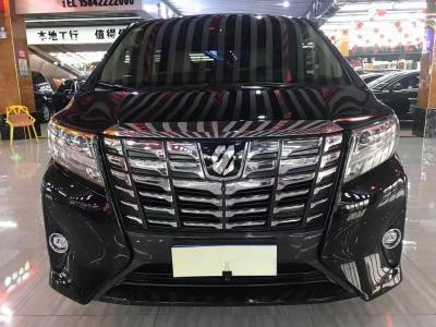 丰田 埃尔法  2015款 3.5L 尊贵版