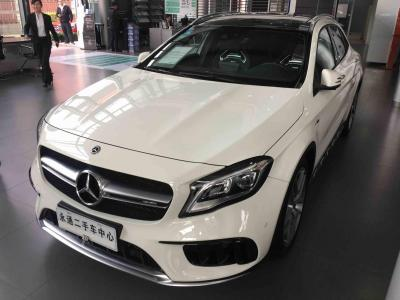 奔馳 奔馳GLA AMG  2017款 AMG GLA 45 4MATIC