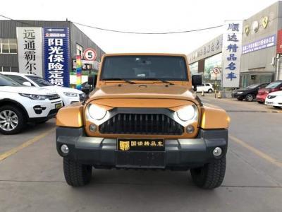 2014年6月 Jeep 牧马人  3.0L Sahara 四门版图片