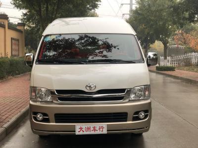 丰田 HIACE  2011款 2.7L自动豪华版13座图片