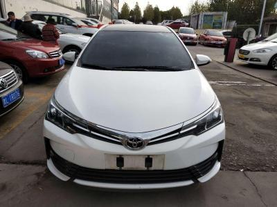 丰田 卡罗拉  2017款 1.2T CVT GL