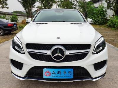 奔馳 奔馳GLE  2018款 GLE 400 4MATIC 轎跑SUV