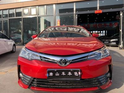 豐田 卡羅拉  2017款 1.2T CVT GL-i