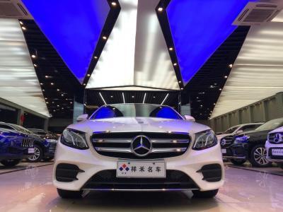 奔馳 奔馳E級  2019款 改款 E 300 L 運動時尚型圖片