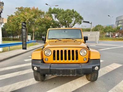 Jeep 牧马人  2013款 3.6L Sahara 两门版