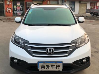 本田 CR-V  2013款 2.4L 两驱豪华版