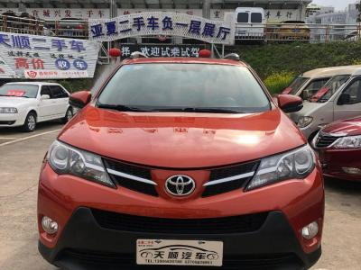 豐田 RAV4榮放  2013款 2.0L CVT四驅風尚版圖片