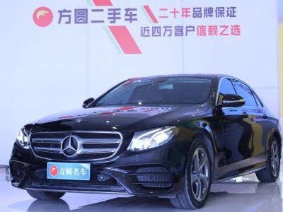 奔馳 奔馳E級  2018款 改款 E 300 L 運動時尚型