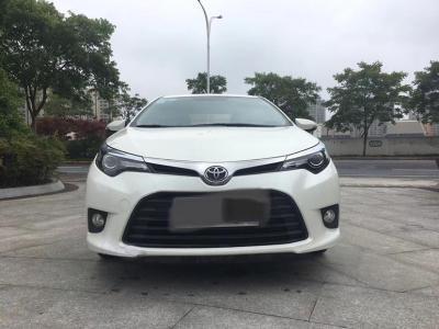 丰田 雷凌  2015款 1.6E CVT新锐版图片