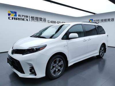 2020年7月 丰田 塞纳 2019款 塞纳3.5L 四驱 SE 7座(加版)图片
