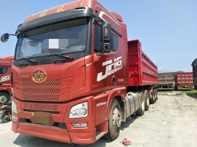 解放jH6半挂自卸车,国五排放图片