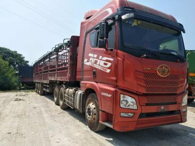 解放jH6半挂牵引车,500马力,维柴13米花栏板,国五排放
