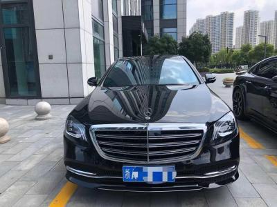 2019年4月 奔驰 奔驰S级  S 350 L 豪华型 臻藏版图片