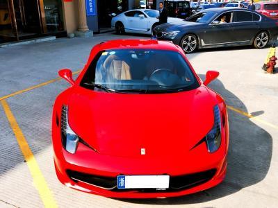2012年9月 法拉利 458 4.5L Italia 中国限量版图片