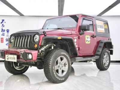 Jeep 牧马人  2012款 3.6L Sahara 两门版