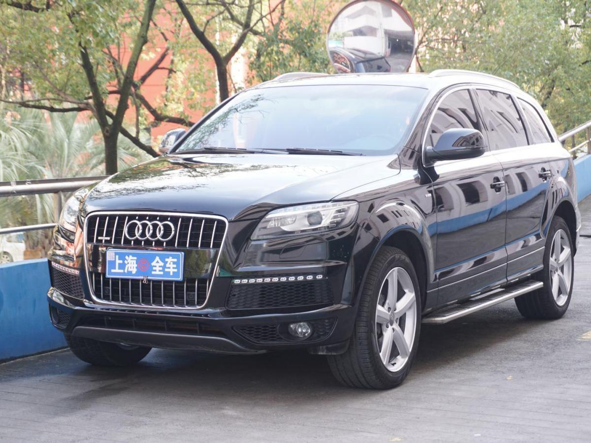 上海二手奥迪奥迪Q72014款35TFSI运动型自动档报价28.5万