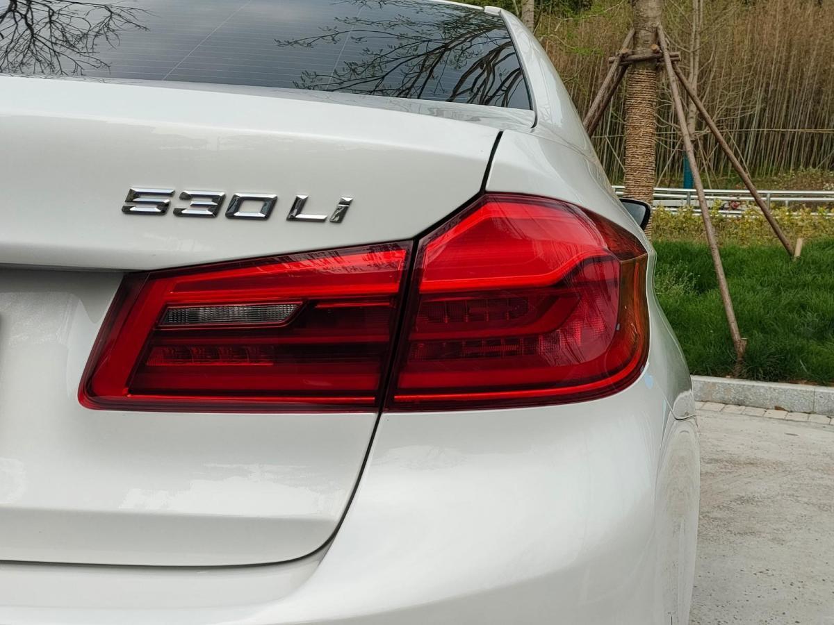 宝马 宝马5系  2020款 530Li 领先型 M运动套装图片