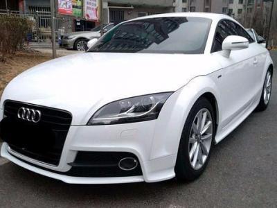 2013年1月 奥迪 奥迪TT(进口) TT 45TFSI Coupe 白色经典版图片