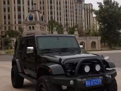 Jeep 牧马人  2014款 3.6L 龙腾典藏版图片