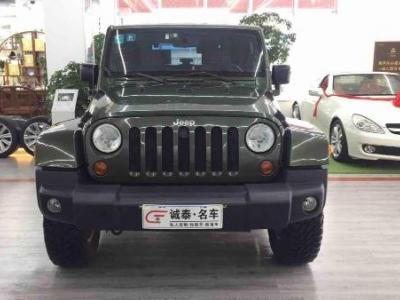 Jeep 牧马人  3.8L 自动档 两门图片
