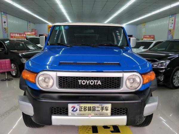 丰田 FJ酷路泽  4.0 四驱版图片