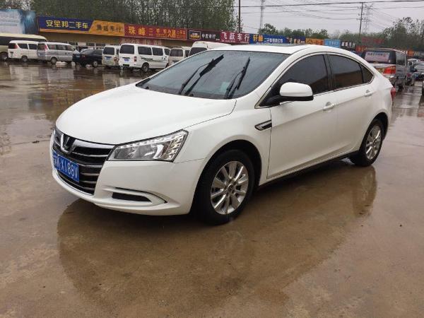 【扬州】2015年3月 纳智捷 5 sedan 纳5 1.8t 智尊型 白色 手自一体