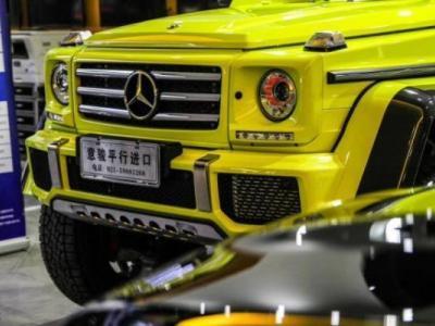 未上牌 奔驰 奔驰G级(进口) G500 4.0T 4MATIC 匠心典藏版图片