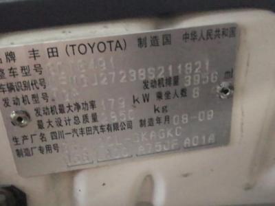 2008年10月 丰田 普拉多 4.0L VX NAVI图片