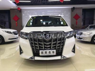 豐田 埃爾法  2018款 改款 3.5L 豪華版圖片