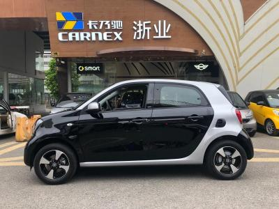 smart forfour  2018款 1.0L 52千瓦激情版
