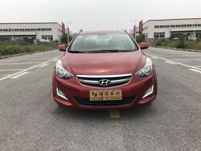 現代 朗動  2016款 1.6L 手動尊貴型